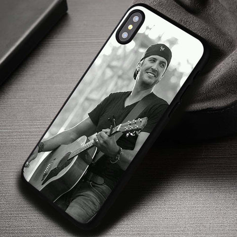 Love Your Smile Luke Bryan Country Music - iPhone X Case