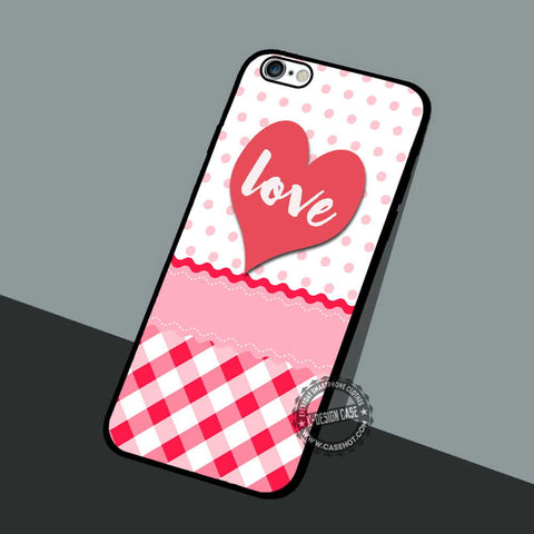 Love with Cute - iPhone 7 6 5 SE Cases & Covers