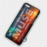 Lyric Art Muse - iPhone 7 6 Plus 5c 5s SE Cases & Covers