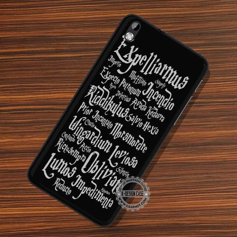 Magic Spells Hogwarts - LG Nexus Sony HTC Phone Cases and Covers