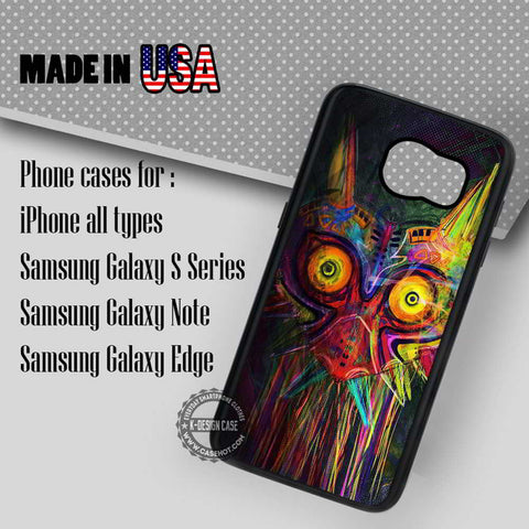 Majora Mask The Legend of Zelda - Samsung Galaxy S7 S6 S5 Note 5 Cases & Covers