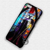 Maleficent Stained Glass - iPhone 7 6 Plus 5c 5s SE Cases & Covers
