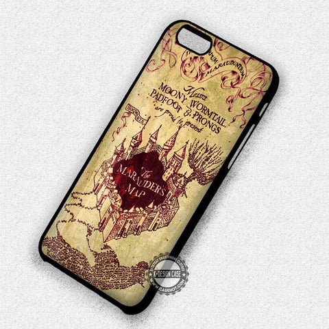 Harry Potter Marauders Map - iPhone 7 6 Plus 5c 5s SE Cases & Covers