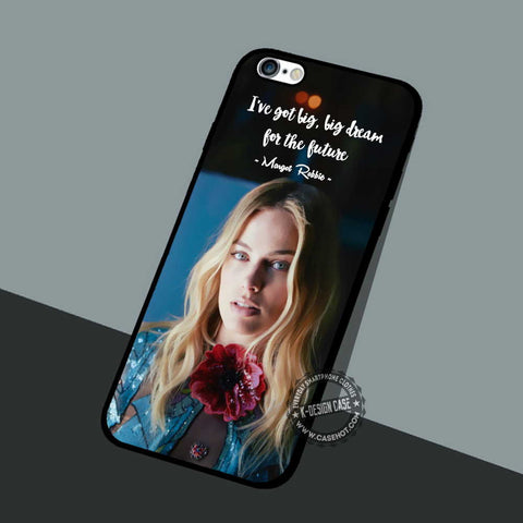 Margot Robbie Oyster - iPhone 7 6 5 SE Cases & Covers