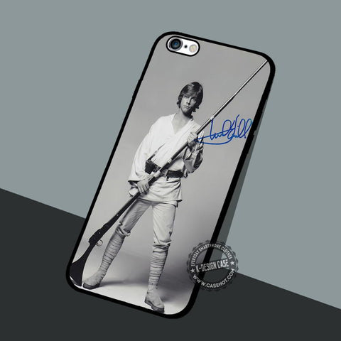 Mark Hamill Signed - iPhone 7 6 5 SE Cases & Covers