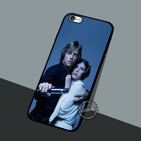 Mark Hamill and Carrie Fisher - iPhone 7 6 5 SE Cases & Covers