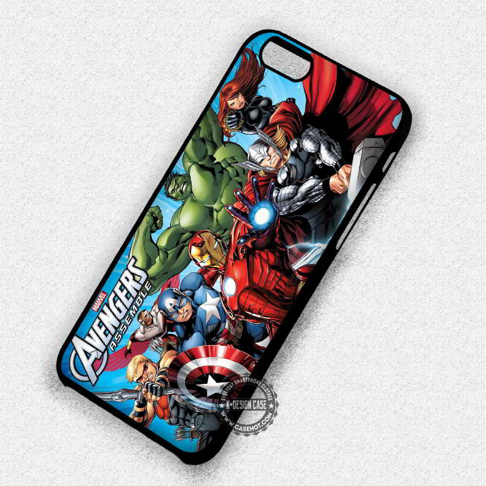 huge selection of 55aea 5f852 Marvel Heroes The Avengers - iPhone 7 6S 5 5S SE Cases & Covers