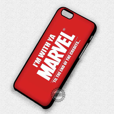 Marvel and Quotes - iPhone 7 6 Plus 5c 5s SE Cases & Covers