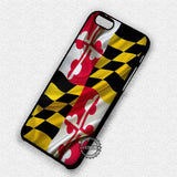 Maryland Flag  - iPhone 8+ 7 6s SE Cases & Covers