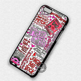 Mean Girls Art - iPhone 7 6 Plus 5c 5s SE Cases & Covers