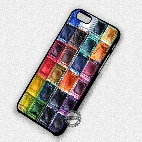 Watercolor Set Make Up - iPhone 7 6 Plus 5c 5s SE Cases & Covers