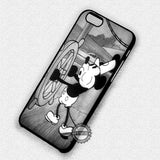 Mickey Mouse Steamboat Willie - iPhone X 8+ 7 6s SE Cases & Covers