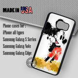 Mickey Mouse Splatter Painting - Samsung Galaxy S8 S7 S6 Note 8 Cases & Covers
