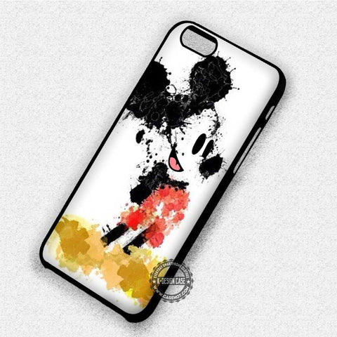 Mickey Mouse Splatter - iPhone 7 6 Plus 5c 5s SE Cases & Covers