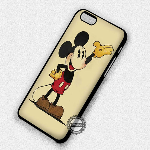 Mickey Mouse Retro Vintage - iPhone 7 6 Plus 5c 5s SE Cases & Covers