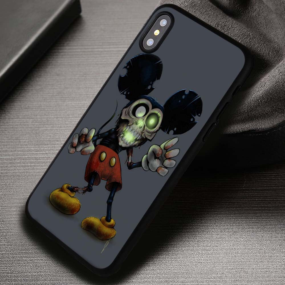 classic fit 64b55 9b62f Mickey Mouse Zombie Donald Duck - iPhone X 8+ 7 6s SE Cases & Covers  #iPhoneX