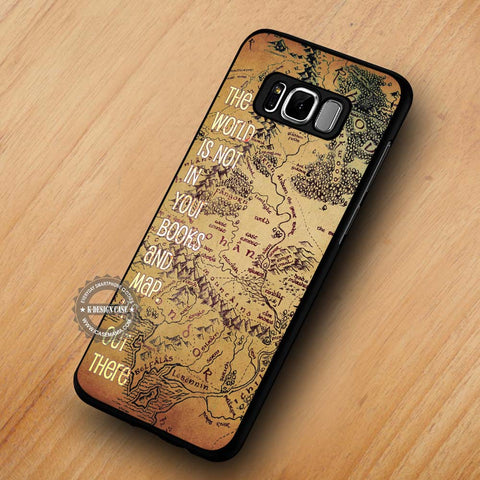 Middle Earth Map Lord of the Rings - Samsung Galaxy S8 Case