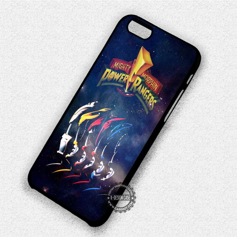 purchase cheap 217fd eae58 Mighty Morphin Power Rangers - iPhone X 8+ 7 6s SE Cases & Covers