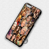Miley Cyrus Collage - iPhone 7 6 Plus 5c 5s SE Cases & Covers