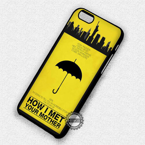 Minimalist Poster Umbrella - iPhone 7 6 Plus 5c 5s SE Cases & Covers