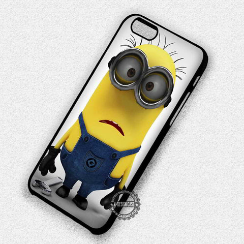 Minion Despicable Me Yellow Funny - iPhone 7+ 6S 5 SE Cases & Covers