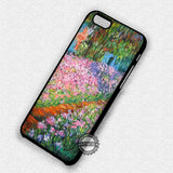 Monet Artist's Garden - iPhone 7 Plus 6S 5 SE Cases & Covers