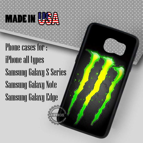 Monster Energy Drink - Samsung Galaxy S7 S6 S5 Note 5 Cases & Covers