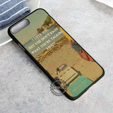 Moonrise Kingdom And Quote - iPhone 8+ Case