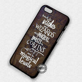 Movie Quote with Map - iPhone 7 6 5 SE Cases & Covers