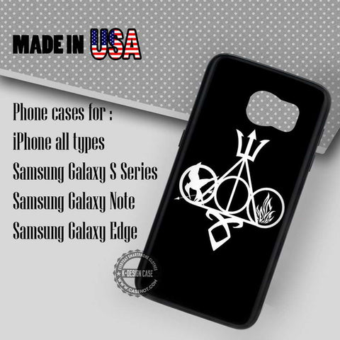 Multifandom Harry Potter - Samsung Galaxy S8 S7 S6 Note 8 Cases & Covers