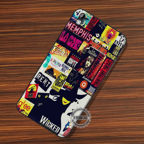 Broadway Collage Wicked - LG Nexus Sony HTC Phone Cases and Covers