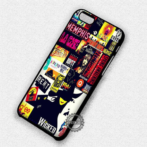 Broadway Wicked - iPhone 7 6 Plus 5c 5s SE Cases & Covers