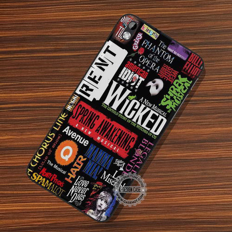 Wicked Musical Collage Broadway - LG Nexus Sony HTC Phone Cases and Covers