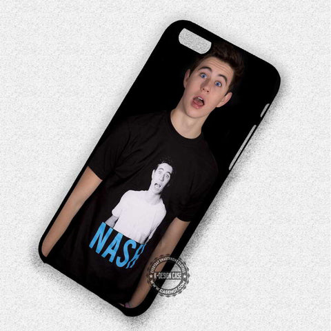 Nash Wearing Nash Shirt - iPhone 7 6 Plus 5c 5s SE Cases & Covers