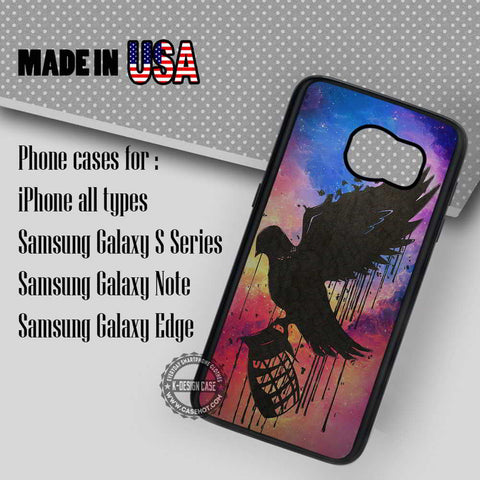 Nebula Logo Hollywood - Samsung Galaxy S7 S6 S5 Note 5 Cases & Covers