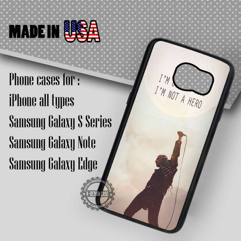 Not A Hero - Samsung Galaxy S7 S6 S5 Note 5 Cases & Covers