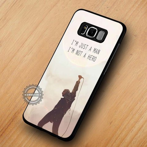 Not A Hero My Chemical Romance - Samsung Galaxy S8 Case