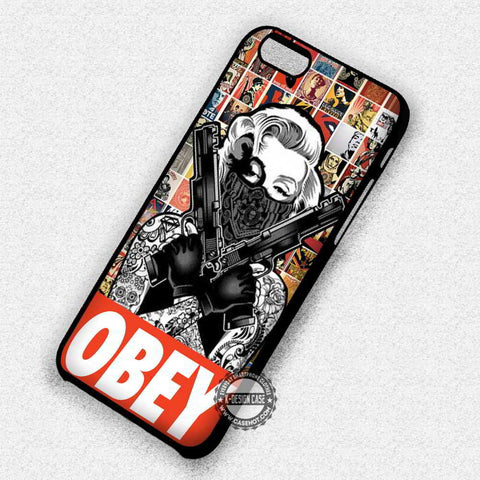 Obey Marilyn Monroe - iPhone 7 6 Plus 5c 5s SE Cases & Covers