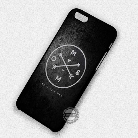 Of Mice and Men Logo - iPhone 7 6+ 5 SE Cases & Covers