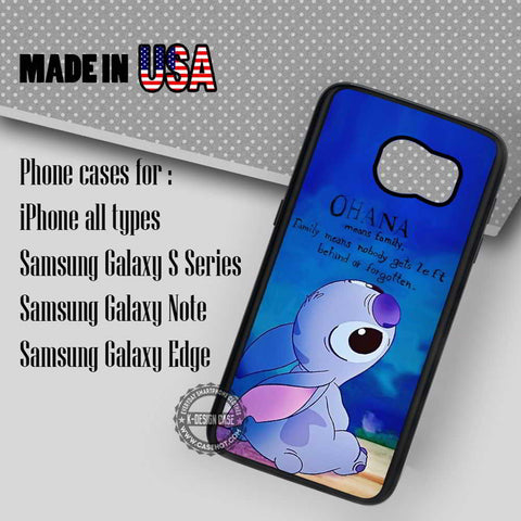 Lilo and Stitch Quotes - Samsung Galaxy S7 S6 S5 Note 5 Cases & Covers