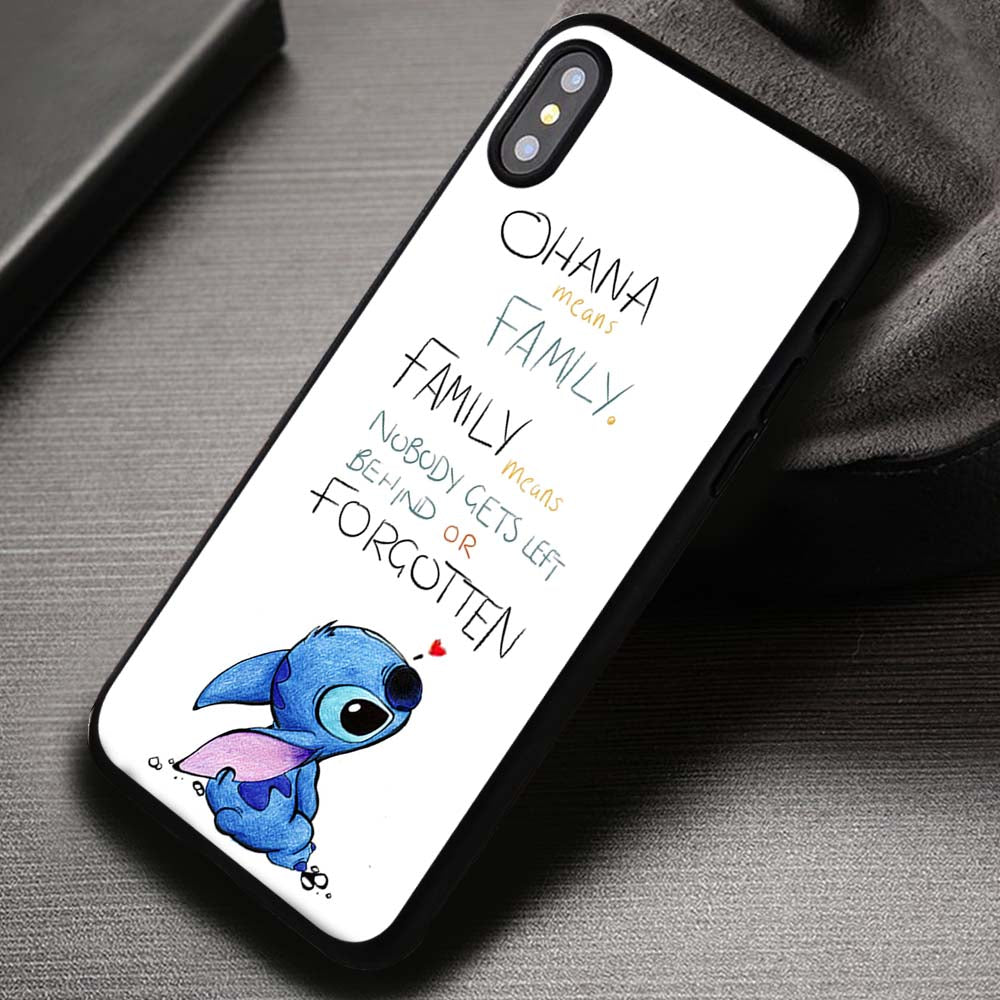 new style 6ba7b 97d38 Ohana Means Family, Lilo And Stitch, Disney Princess - iPhone X 8+ 7 6s SE  Cases & Covers #iPhoneX