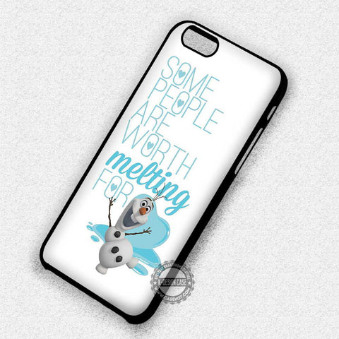 Olaf Frozen Quote - iPhone 7 6 Plus 5c 5s SE Cases & Covers
