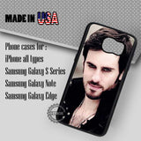 Captain Hook Pirate - Samsung Galaxy S7 S6 S5 Note 5 Cases & Covers