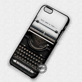 Once Upon A Time Typewriter - iPhone 7 Plus 6S 5 SE Cases & Covers