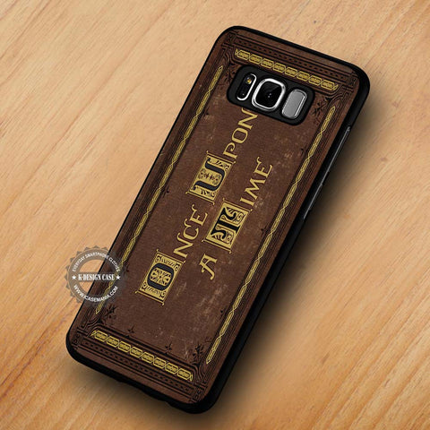 Once Upon a Time Book Vintage - Samsung Galaxy S8 Case