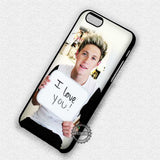 Niall Horan Love Sign - iPhone 7 6 Plus 5c 5s SE Cases & Covers