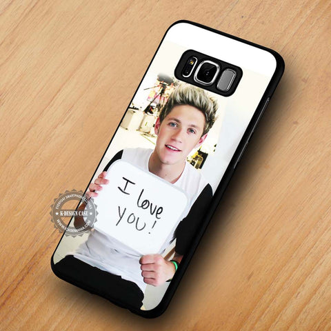 One Direction Niall Horan I Love You Sign - Samsung Galaxy S8 Case