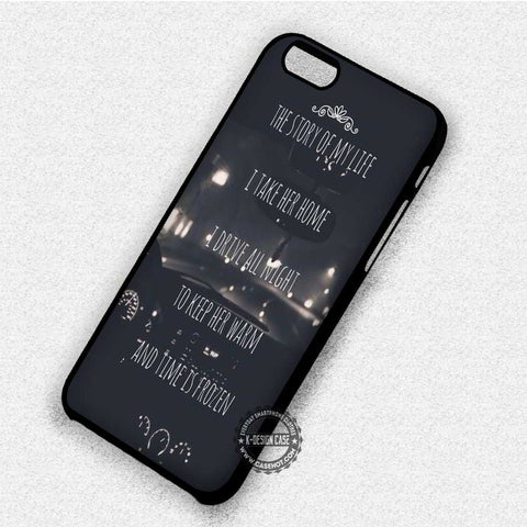 Story Lyric 1D - iPhone 7 6 Plus 5c 5s SE Cases & Covers