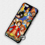 Anime Luffy Pirates - iPhone 7 Plus 6 SE 5 Cases & Covers