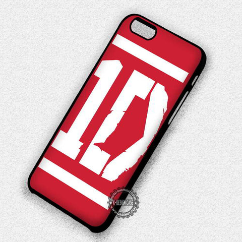 One Direction Red and White Logo - iPhone 7 6 Plus 5c 5s SE Cases & Covers